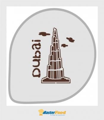 Stencil per torte Dubai (mask 301) Martellato