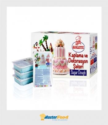 Pasta di zucchero Azzurro blue light sugar dough kg.1