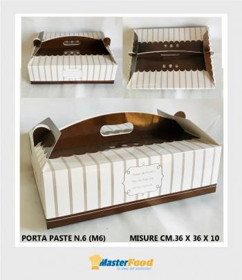scatola porta paste n.6