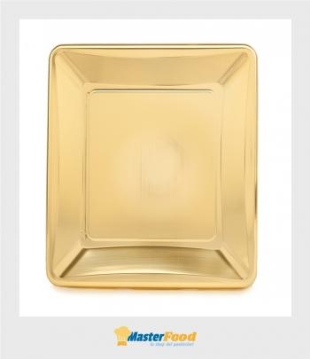 Monoporzione quadrata cm.9x9 oro pz.100 Martypack