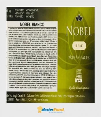 Copertura nobel bianca kg.5 (glutenfree) Irca