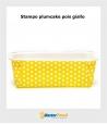 Stampo da cottura PLUMCAKE GIALLO POIS gr.500 in cartoncino