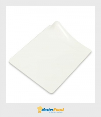 Vassoio gogò quadrato Bianco pz.40 Alcas