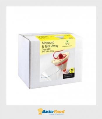 Bicchierino Coppetta Cone scatola pz.20 Martellato