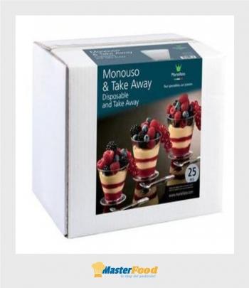 Bicchierino Coppetta Cup scatola pz.25 Martellato