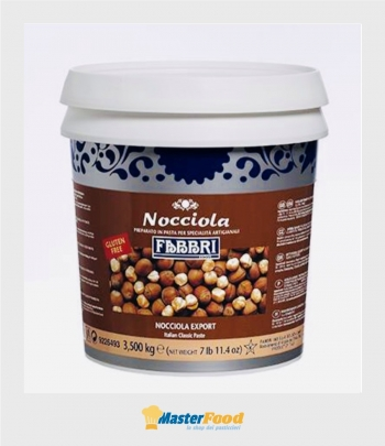 Pasta Nocciola export kg.3,500 (glutenfree) Fabbri