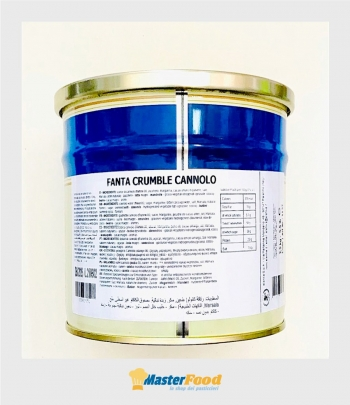 Fanta Crumble Cannolo kg.2,500 Elenka
