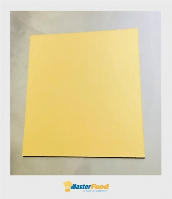 Piatto ala quadrato bordo liscio kg.10 cm.39x39