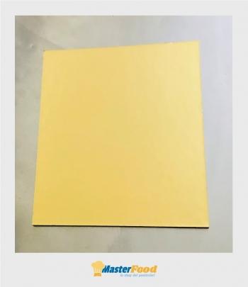 Piatto ala quadrato bordo liscio kg.10 cm.25x25