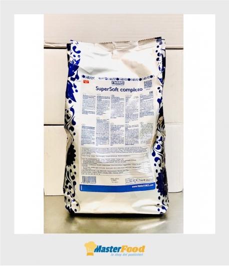 Base per gelato Supersoft completa kg.2,500 (glutenfree)