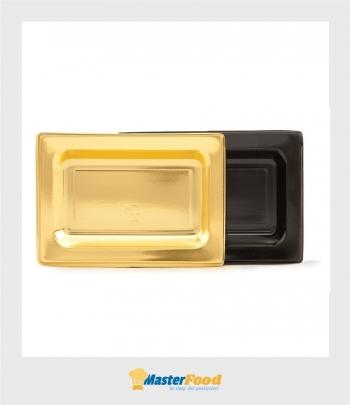 Monoporzione rettangolare piccolo oro cm.14x6 martypack