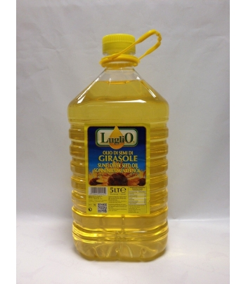 olio di girasole in pet da lt.t
