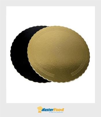 Piatti ala oro/nero cm.20 kg.10 Novaservice