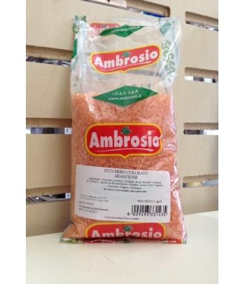 cristalli di zucchero arancio kg.1 ambrosio