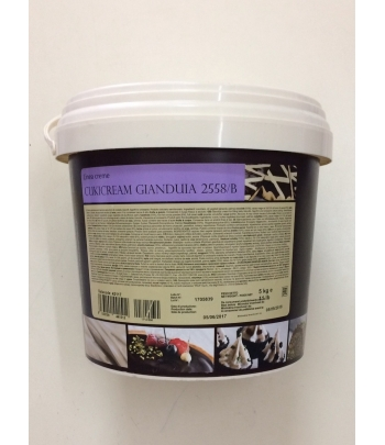 cukicream gianduia (crema da forno) kg.5 irca